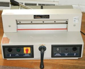 Mbm Triumph Guillotine Paper Cutter Model 3915 Works Well Pick up Available