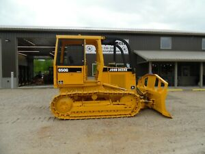 1992 John Deere 650g Series Iv Dozer Forestry Good Bottom Clean