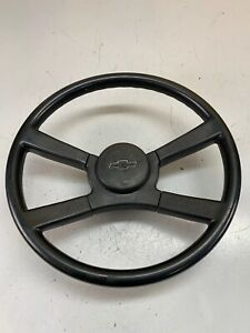 88 94 Gmc Chevrolet Truck Suv Complete Steering Wheel With Horn Cap Oem