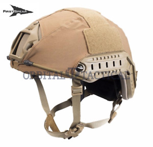 First Spear Solid Stretch Helmet Cover For Ops Core Fast Coyote Medium  Large
