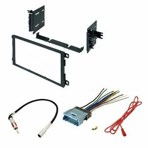 Chevrolet 2003 2006 Silverado 1500 Car Radio Stereo Dash Install Mounting Kit