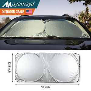 Big Car Windshield Sun Shade Auto Sunshade Visor Reflective Uv Block Protection
