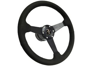 1979 1982 Ford Mustang S6 Suede Steering Wheel Solid Kit Pony Emblem