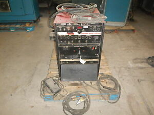 Lincoln Electric Square Wave Tig 350 Ac dc Tig And Stick Arc Welder