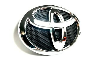 For Toyota Corolla 09 13 Front Grille Black Chrome Bumper Radiator Emblem Logo