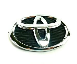 For Toyota Camry Hybrid Black Chrome 07 09 Front Grille Bumper Radiator Emblem
