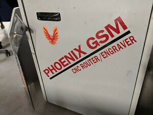 Phoenix Gsm Cnc Router Engrave Control System Working Centroid