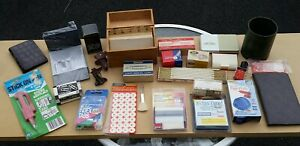 Lot Of Vintage Office Desk Drawer Supplies Ace Swingline Acco Pocket Secretary