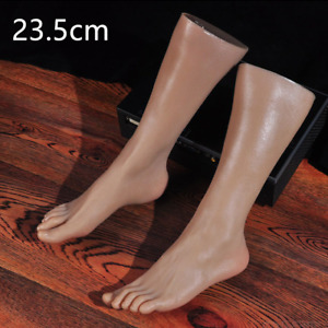 Knowu Display Lifelike Feet Mannequin Left Legs Male Or Model One Right Silicone