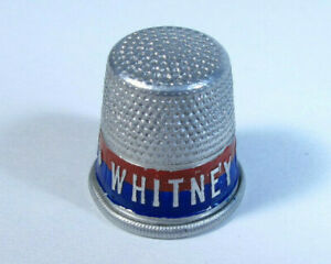 Whitney For Governor Vintage Thimble Aluminum Political Advertising 1900 S