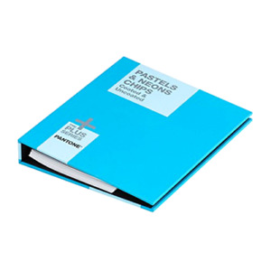 Pantone Pastel neons Chip Book Gb1504 Easy To Use And Portable