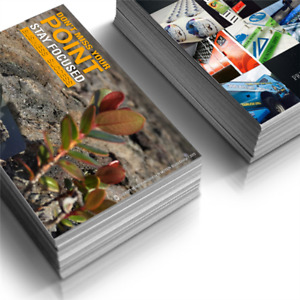 Full Color Standard Postcards Printed 2 Sides 16pt Coated With Uv Gloss