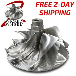 Wicked Wheel 2 Billet Turbo Compressor Wheel 1994 03 Ford Powerstroke 7 3 Diesel