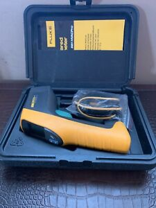 Fluke 561 Infrared And Contact Thermometer With Manual Hard Case Excellent