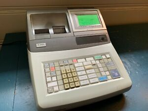 Casio Model Te 3000s Electronic Point Of Sale Cash Register Used Working