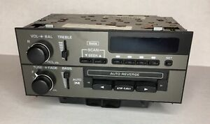 Delco Vintage Am fm Car Radio Cassette Player Model 16080111 Euc