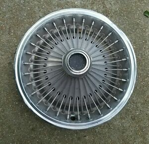 Vintage Oem 1970 80 Dodge Plymouth Midsize 14 Wire Spoked Hubcap Wheel Cover