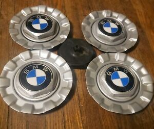 Set Of 4 Oem Bmw E39 5 series Bbs Style 29 Alloy Wheel Center Caps Hubcaps d