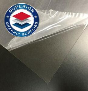 Petg Clear Plastic Sheet Acid Free Strong 48 X 96 30mil Clear 1 Sheet
