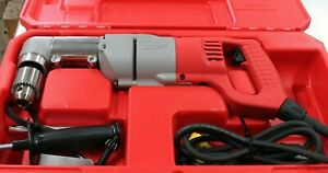 Milwaukee Electric 1 2 Right Angle Drill Driver Kit W Case 1107 1 3107 6 Tool