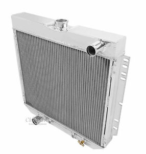 1966 1967 1968 1969 1970 Ford Falcon 3 Row Core Champion Wr Radiator