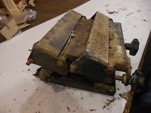 1977 International 1086 Farm Tractor Mechanical Seat Suspension