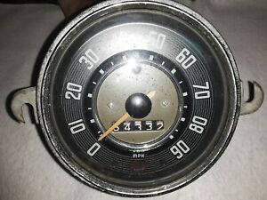 Vw Bug Beetle Vdo Speedometer 1961