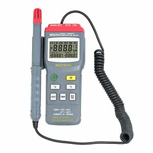 Mastech Ms6503 Humidity Temperature Meter Thermometer