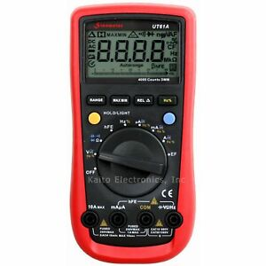 Sinometer Ut61a Ac Dc Voltage Frequency Multimeter Non contact Voltage Detector
