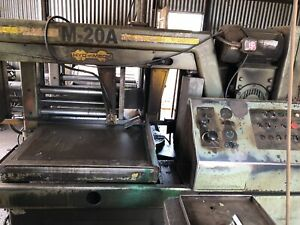 Hyd mech M 20a Mitering Automatic Band Saw