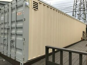 Orange Ca 40 Cargo storage Container