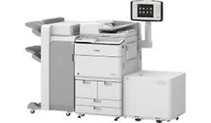 Canon Imagerunner Advance 8595i Copier Printer W booklet And Lct