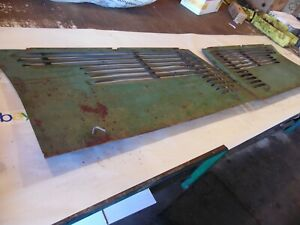 1941 Oliver 60 Row Crop Farm Tractor Side Curtains very Nice