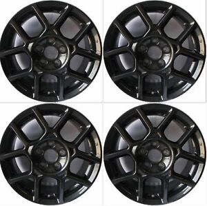4 17 Type S Style Alloy Wheels Rims Fits 2007 2008 Acura Tl Dark Hyper Silver