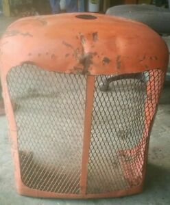 Allis Chalmers Wc Wd Wd45 Tractor Front Grill Nose Cone Rat Rod Man Cave Ac Part