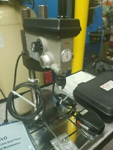 Servo Sensitive Drill Press With Tapping And Accessory Tooling Kit Hardly Used