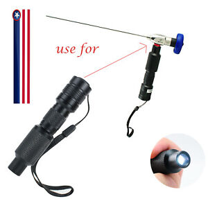 Usps Portable 10w Led Cold Light Source Connector Fit For Storz Wolf Endoscope