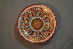 Antique Japanese Colorful Hand Painted Porcelain Plate Imari W Dragon