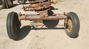 Massey Harris 44 Tractor Wide Front End Assembly Schwartz Wide Front Mh 33