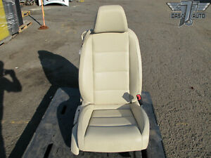 07 11 Vw Eos Front Right Passenger Side Seat Cushion Leather Beige Assembly Oem