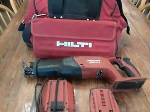 Hilti Wsr 18 a Reciprocating Saw Battery Bag Charger charger Wont Power On