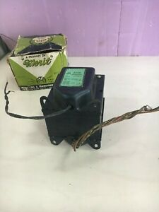 Vintage Merit P 3158 Dual Plate Transformer See Pic 3 For Rare Specs