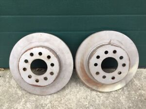 Brake Rotors Part 54055 Believe They Were For A Lincoln Continental Never Used
