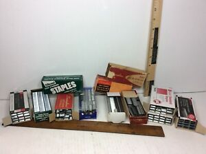 40000 Vtg Swingline Universal Rexel Staples Standard Size No 35 Made In The Usa