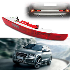 Red Rear Right Side Bumper Lower Tail Light Reverse Stop Fog Lamp Fit Audi Q5