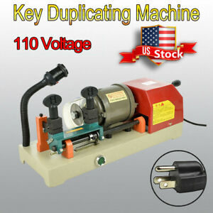 Key Duplicating Machine Key Cutting Cutter Copy Duplicator Locksmith Set Tool Us