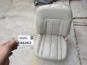 1998 1999 Toyota Avalon Right Passenger Front Seat Tan Leather Track Motor Power