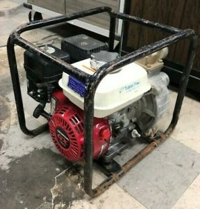 Tsurumi Pump Te2 50ha Water Trash Pump W Honda Gx 120 Engine