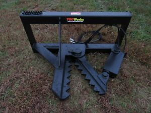 Bobcat Skid Steer Tractor Loader Tree And Post Puller Attachment Ship 179