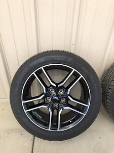 2018 Mustang Oem Wheels And Tires Set Of 4
